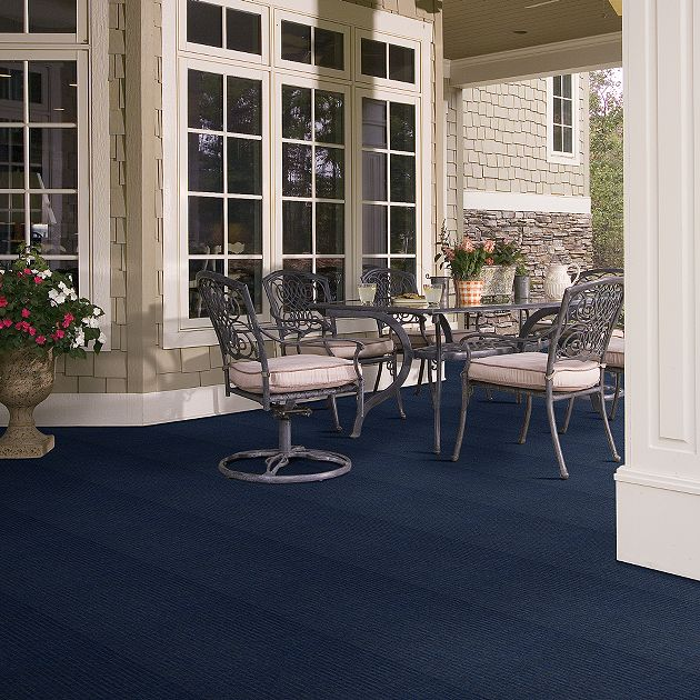 Shaw Beacon II Collection, Color 00400 Deep River, Indoor/Outdoor/Grass Carpet