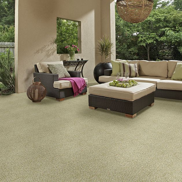 Shaw Natural Path Collection, Color 00300 Seedling, Indoor/Outdoor/Grass Carpet