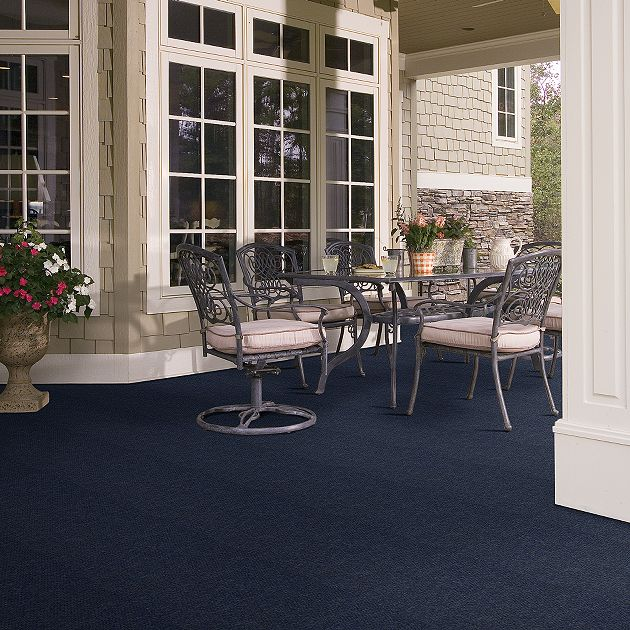 Shaw Succession Collection, Color 00400 Laguna Bay, Indoor/Outdoor/Grass Carpet