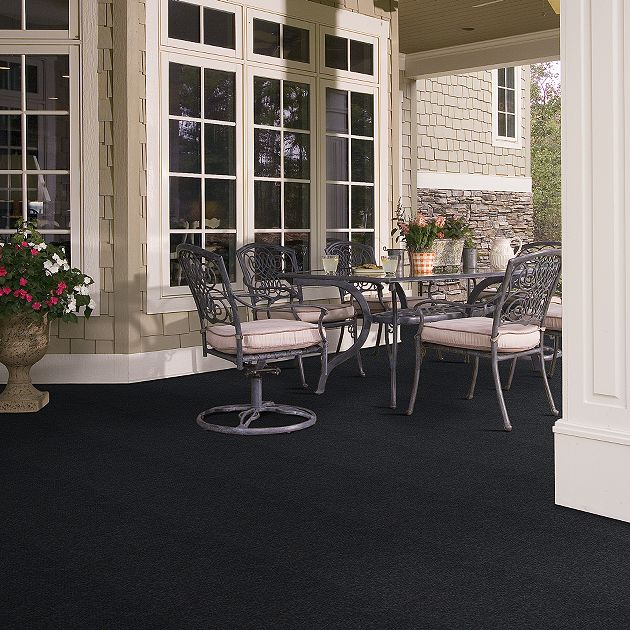 Shaw Succession Collection, Color 00500 After Dark, Indoor/Outdoor/Grass Carpet