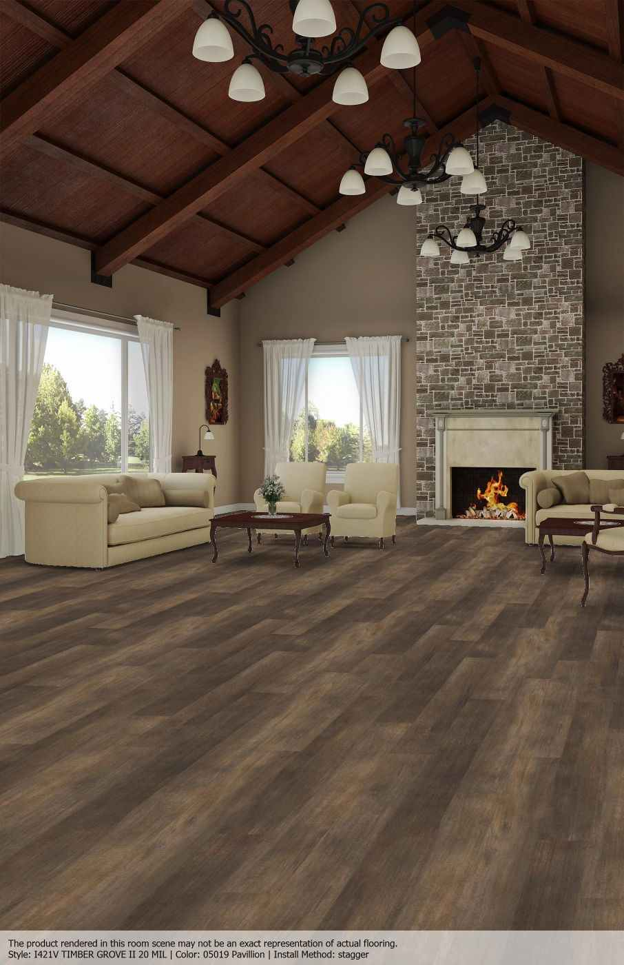 Timber Grove II 20 I421V Color: Pavillion 05019