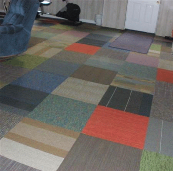 Lot D Checkerboard Mix N Match Carpet Tiles Checkerboard