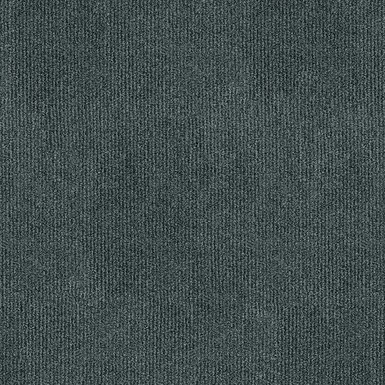 Trafficpro Ribbed Smoke Residential Carpet Tiles